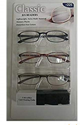 610db3f9768 Design optics 3-pack reading glasses the best Amazon price in ...