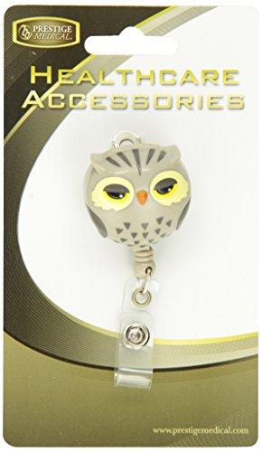 Prestige Medical S14 Deluxe Retractable ID Holder, Owl - http://medicalbooks.filipinodoctors.org