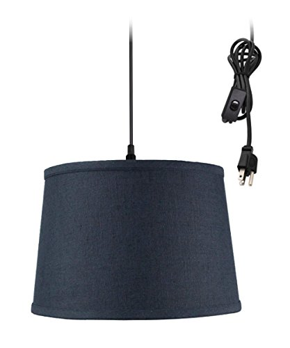 Drum Pendant Light With Chain in US - 9