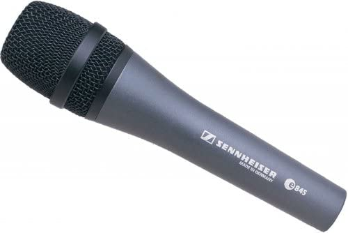 Sennheiser e845 Extended High-Frequency Response Supercardioid Microphone