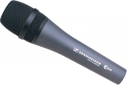 Sennheiser e845 Extended High Frequency Response Supercardioid Microphone (Supercardioid Handheld Microphone Vocal)