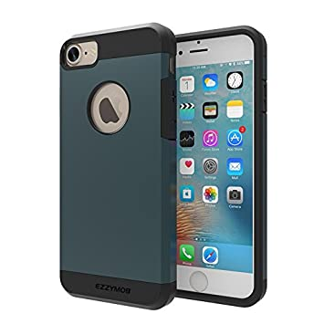 iPhone 7 Carcasa Móvil, Ezzy Mob® Carcasa para iPhone 7,, resistente a golpes, antiarañazos, Armor Case para iPhone de 7 (4.7 inches).