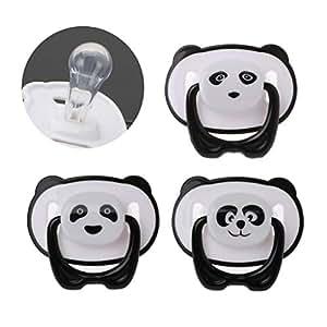 LLLucky Panda Lindo Bebé Recién Nacido de Silicona ...