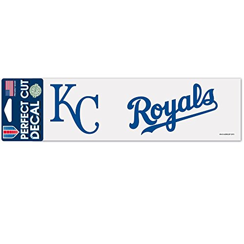 (WinCraft MLB Kansas City Royals WCR33927015 Perfect Cut Decals, 3