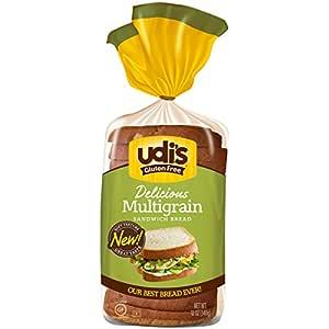 Udi's Delicious Gluten-Free MultiGrain Bread, 12 Oz - 2 pack