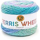 Lion Brand Yarn 217-606 Ferris Wheel Yarn, Cotton Candy