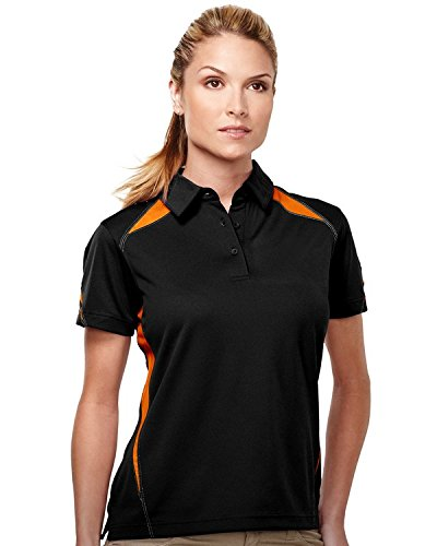 Tri-Mountain Women Ultracool Short Sleeve Contrast Birdseye Mesh Polo (12 Color)