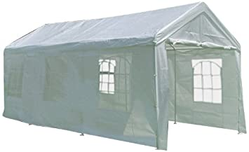 Palm Springs 10 X 20 Heavy Duty White Party Tent Gazebo with Sidewalls 002  sc 1 st  Amazon.com : 10x20 canopy side walls - memphite.com