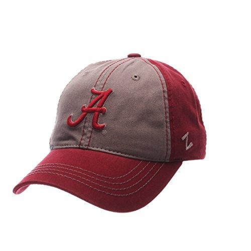 NCAA Alabama Crimson Tide Men's Storm Front Strap Back Hat, Adjustable, (Relaxed 3d Adjustable Cap)