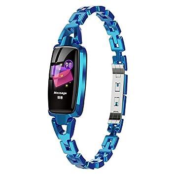 SODIAL Dr66 Smart Watch Pulseras de Mujer Pulsera de Fitness ...