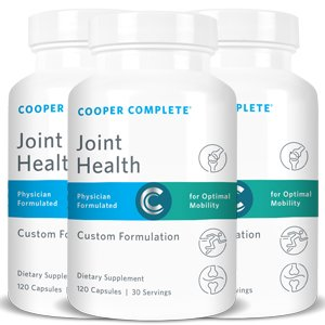 Cooper Complete - Joint Health - Three Bottles (90 Day Supply) by Cooper Complete