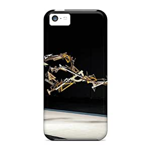 New Style JamesDLaughlin Hard Case Cover For Iphone 5c- Flex