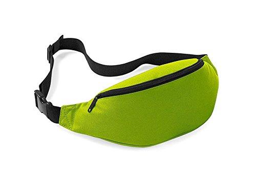 Casadeiy Outdoor Sports Wandern Laufgürtel Taille Taschen Pouch Wallet Zip Deep Waistpacks Grün