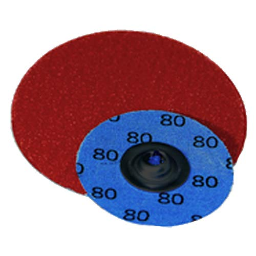 3''-120 Grit - Ceramic - Turn-On Quick Change Disc (Pack of 50)