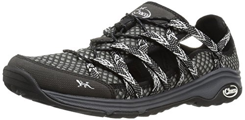 Chaco Women's Outcross EVO Free Hiking Shoe, Black, 8 M US