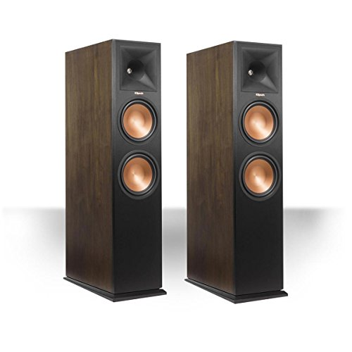 Klipsch RP-280FA Reference Premiere Dolby Atmos Enabled Floorstanding Speaker - Pair (Walnut)