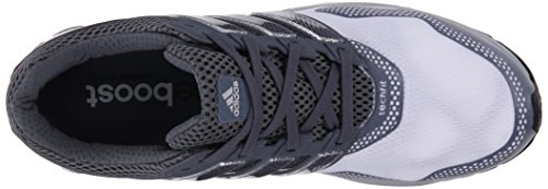 Adidas Performance Mens Risposta Boost 2 Techfit M Scarpa Da Corsa Bianco / Grigio / Grigio