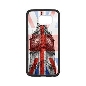 British Flag Samsung Galaxy S6 Cell Phone Case Black Gift pjz003_3365070