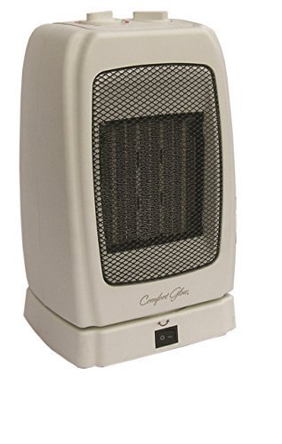 Comfort Glow CEH255 Oscillating Ceramic Safety Furnace, 1500-watt, Bone by Comfort (Comfort Furnace)