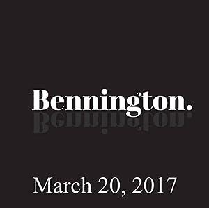 Bennington, Amy Miller, March 20, 2017 Radio/TV Program