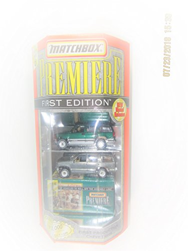 n MATCHBOX PREMIERE FIRST EDITION 2 CAR SET Chevy Tahoe Limited ()