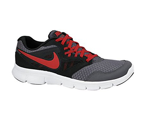 Nike 653701 400 - Zapatillas de fitness Niños Dark Grey / Black / White / Gym Red