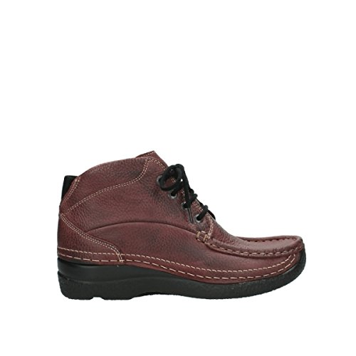 90510 Sparare Up Boots Wolky Lace Rotolo Nabuk Di 6242 Bordo CY0BYHqwx