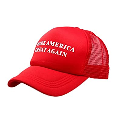 Make America Great Adjustable Unisex Hat - 2016 Campaign Cap Hat Mesh Baseball Cap