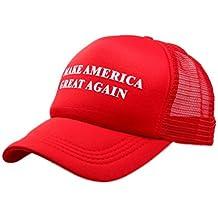 Villy Make America Great Adjustable Unisex Hat - 2016 Campaign Cap Hat Mesh Baseball Cap