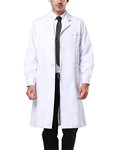 Nachvorn Professional Unisex Lab Coat Workwear Scrubs for sale  Delivered anywhere in USA