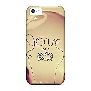 UAA19447pTqb Phone Cases With Fashionable Look For Iphone 5c - Love