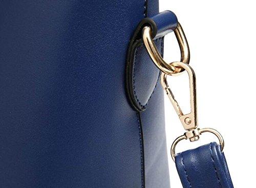 Bolsos De Moda Bolsa Grande De Tres Piezas De Bandolera Foto-portátil Paquete De Diagonal Black
