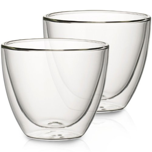 VILLEROY & BOCH ARTESANO HOT BEVERAGES Glass tumbler - large - set of 2 (Villeroy And Boch Artesano)