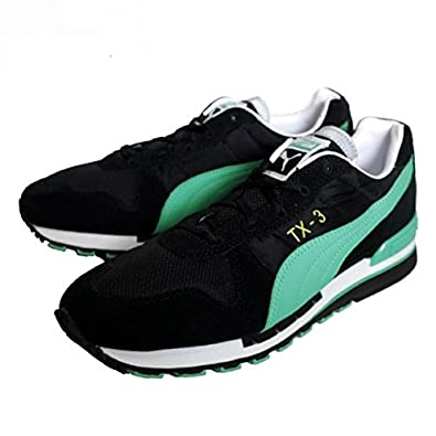 Puma TX 3 Wn's, Baskets Mode Femme Noir (Black Pool Green