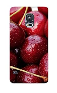 Fashion Protective Cherry Vitamins Berry Berries Cherries Case Cover Design For Galaxy S5 by lolosakes