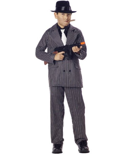 20s Gangster Boys Costumes (California Costumes Toys Gangster,)