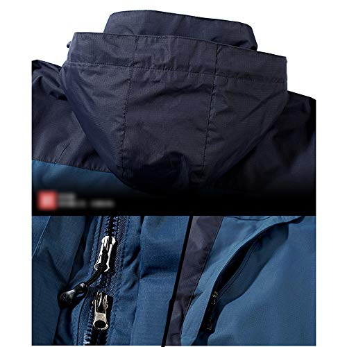 Gbralx Transición Chaqueta Softshell Viento Blue Impermeable Senderismo Exterior Sudadera Prueba 3 Pesca De A Montaña Funcional 1 En rrqfaR