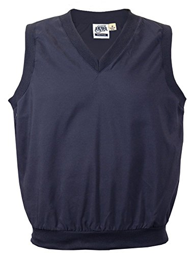 Akwa Men's V-Neck Pullover Vest Made in USA by Akwa