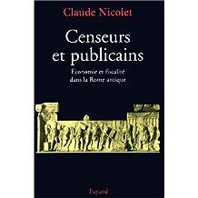 CENSEURS ET PUBLICAINS