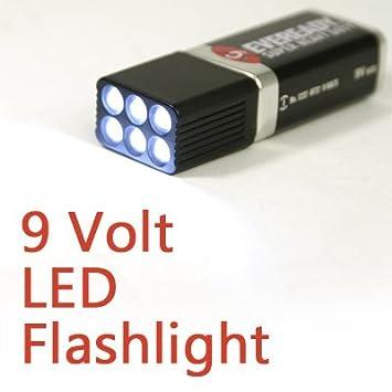 9 volt taschenlampe