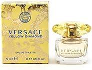 Versace amarelo diamante por Versace Mini EDT .17 OZ para Mulheres