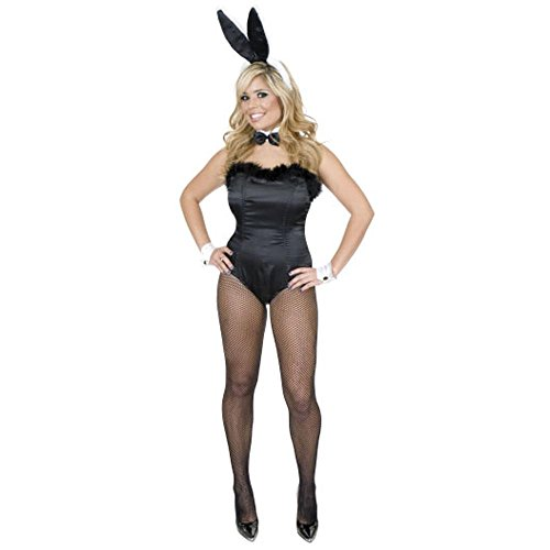 Legally Blonde Costumes (Women Lg (11-13-Runs Small) Sexy Bunny Costume with Ears 01043)