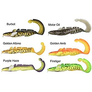 Curly Tail Soft Plastic Burbot 25 cm