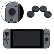 UEB NEW 4 in 1 TPU Thumb Grips Cap for Nintendo Switch Joy-Con Controller, Multi-color