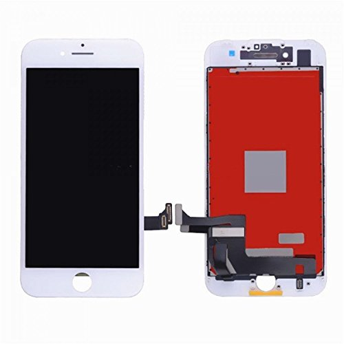 Replacement Screen LCD Display Digitizer Assembly complete full set for iPhone 7 plus 5.5 inch (white) including repair tool kit