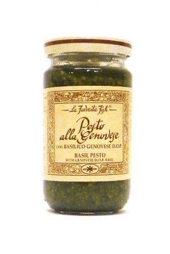 Basil Pesto (Pesto Alla Genovese By La Favorita (180 Gram))