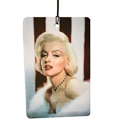 Marilyn Monroe Stars & Stripes Car Air Freshener (Xmas Christmas Stocking Filler/Secret Santa Gift) (Marilyn Monroe Xmas)