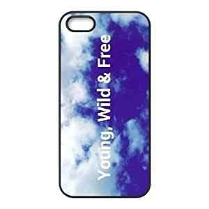 Young Wild and Free ZLB524534 Brand New Phone Case for Iphone 5,5S, Iphone 5,5S Case