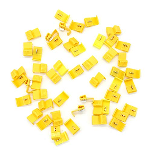 as described Yellow Baoblaze 100 Pieces 11mm Twist-on Wire Connector Splice Screw On Typ Caps
