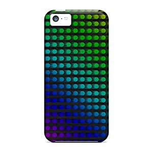 Excellent Design Colorful Dots Abstract Phone Case For Iphone 5c Premium Case
